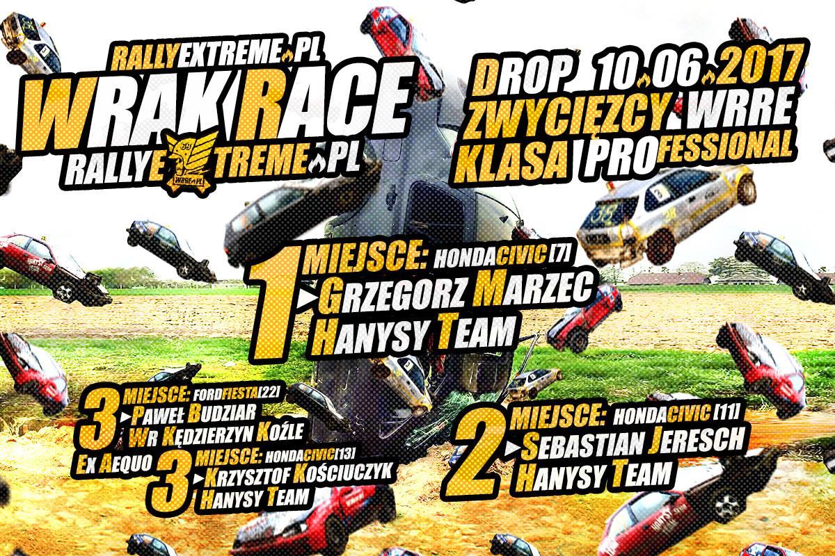Zwyciezcy Oficjalne Wyniki Wrak Race Rally Extreme - 10.06.2017 - RallyExtreme.pl Radostowice k.Pszczyny