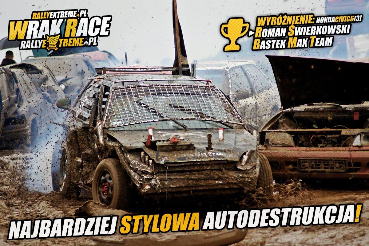 Zwyciezcy Oficjalne Wyniki Wrak Race Rally Extreme - 17.09.2016 - RallyExtreme.pl Radostowice k.Pszczyny
